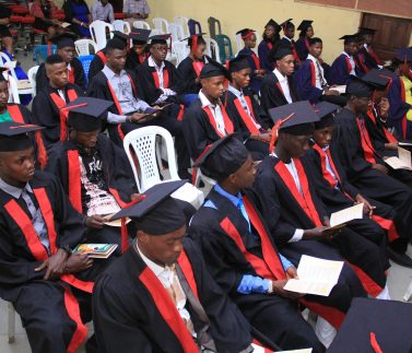 cross section of students during 3rd matriculation ceremony